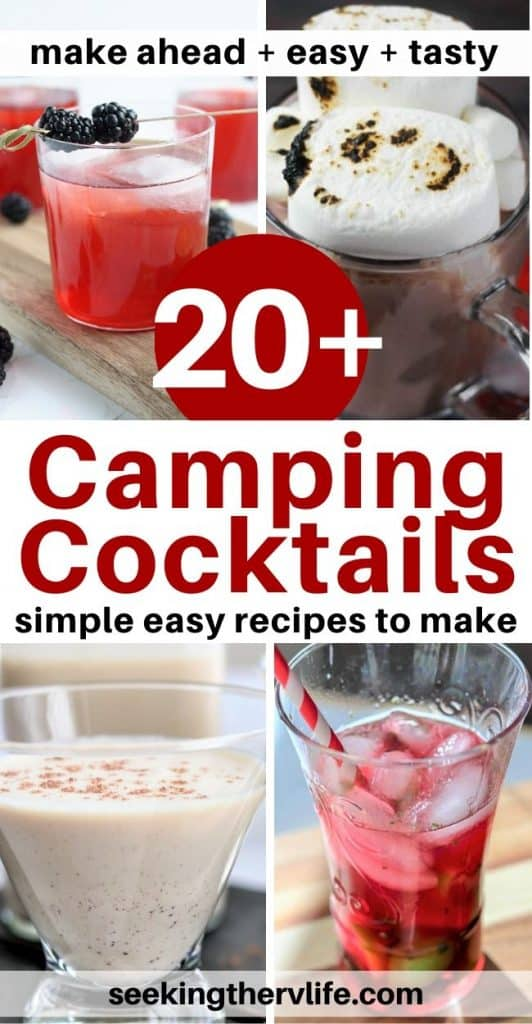 20+ Camping Cocktails | Easy Cocktail Recipes