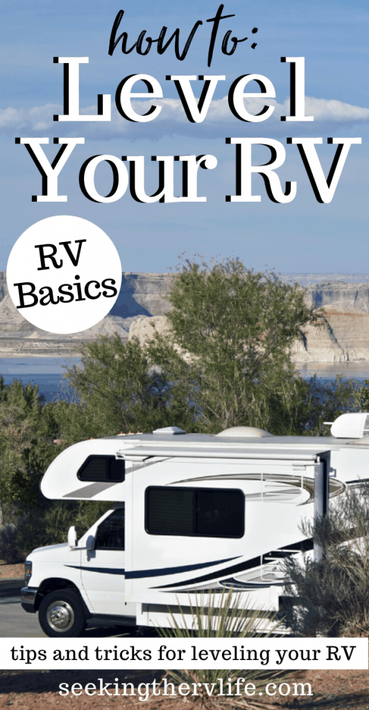 RV leveling Tips and Tricks
