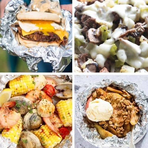 30+ Foil Packet Meals | Foil Packet Meals | Camping Food | RV Cooking